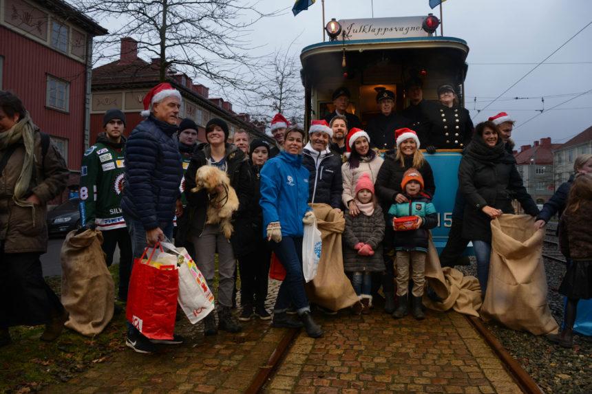 Stadsmissionen julklappsvagnen