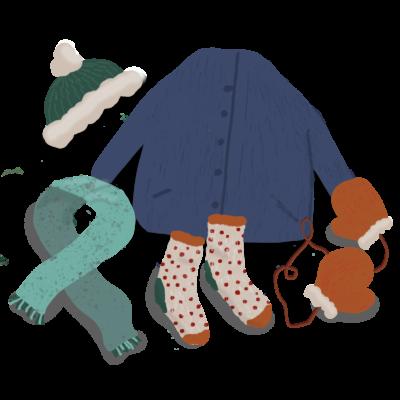 Vinterkläder för barn